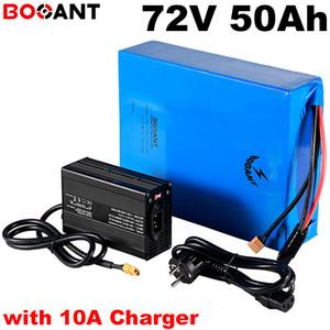 20S 17P 72V 50Ah 9000W E-bike batteria al litio per Samsung 30Q 18650 cellule 72V 5000W bici elettrica agli ioni di litio con caricabatterie 10A