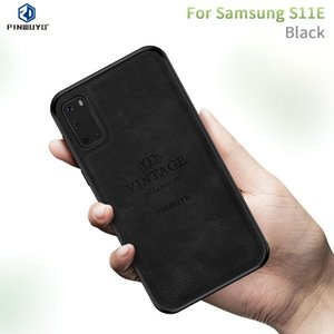 Galaxy S20 PINWUYO Zun Serisi PC + TPU + Cilt su geçirmez Herşey Koruyucu Kılıf Anti-fall için