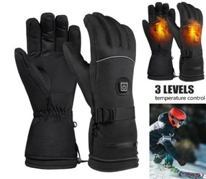 Rechargeable Electric Warm Heated Gloves Motorcycle Bike Hunting Winter Warmer Golves Outdoor without battery