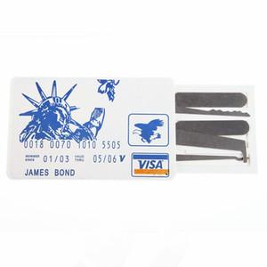 Ouvre-porte de verrouillage de carte de crédit Pick Set outil pour la réparation