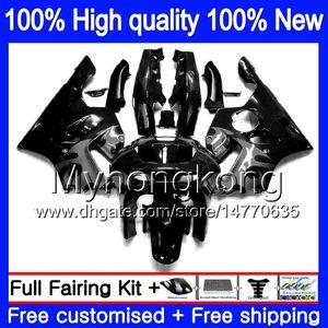 Body For KAWASAKI ZX 636 600CC ZX-636 1994 1995 1996 1997 213MY.15 ZX636 ZX-6R ZX600 ZX 6 R 6R ZX6R 94 95 96 97 Fairings black grey