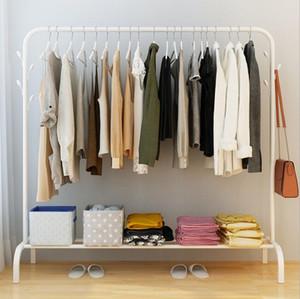 Metal Coat Rack Floor Floor Hanger Storage Rack Creative Bedroom Living Room Furniture save space neat