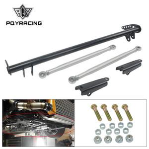 PQY - Silver Traction Control Tie Bar For Honda Civic 92-95 For Acura Integra 94-01 Honda DEL SOL 93-97 PQY-FTB01