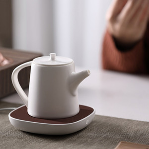 Xiaomi Youpin SJ Xiaobai Insulation Heating Coaster 55°C Constant Temperature DC 12V PI Heating for Porcelain Glass Metal Cup