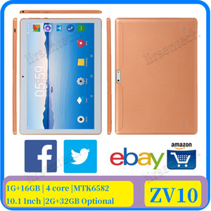 v10 10.1 inch android Capacitive touch pc tablet 1GB+16GB|2GB+32 GB cheap price tablet pc 1290x800 MTK 6582 Quad-core wifi tablet PC