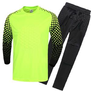 Gatekeepers Costume Set Mens Long Sleeve Jersey Childrens Gantry Shirt Football Clothes Adult Soccer Goalie Apparel Sweatshirts