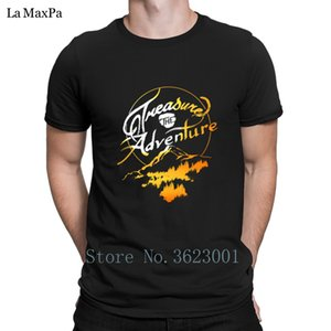 Design Comical T Shirt Treasure The Adventure Men's T-Shirt Outfit Tshirt For Men Natural Tee Shirt Mens 100% Cotton Pop Top Tee