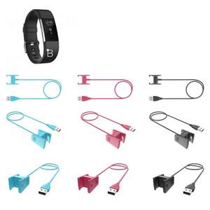 Fitbit Charge 2 3 USB 충전 케이블 1M 3FT 55cm 검은 색 분홍색 파란색 옵션 충전기 충전 2 charge3 스마트 밴드 액세서리 교체