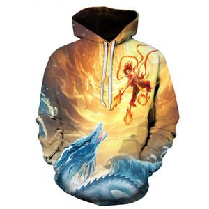 Kapüşonlular Nezha Child 3D Tişörtü Print Yeni Stil Erkekler Hoodies 2020 İlkbahar Sonbahar Erkek Casual Y031 Tops