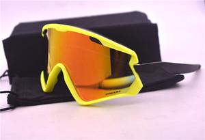 Марка Велоспорт Спортивных очки велосипед Ultralight UV400 очки 7072 езда Вождение для женщин и мужчин с коробкой