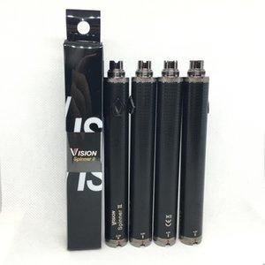 Vision Spinner 2 Battery Bottom Twist VV 3.3V--4.8V Vision II Battery Variable Voltage For 510 Thread eGo CE4 MT3 Atomizer Vaporizer