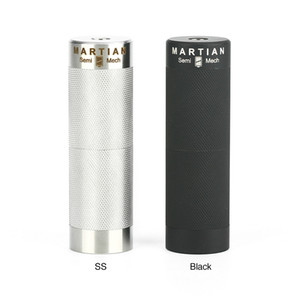 Lvs Martian 18350/18650 Yarı Mech MOD 510 Konu Kutusu Mod için 22mm / 24mm MTL tankları atomlaştırıcılar vape Orijinal