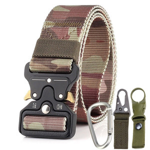 Tactical belt male army fan tactical belt 2019 new 3.8cm outdoor training belt Leisure and comfort