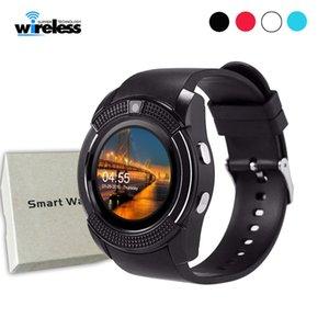 Kamera siart izle desteği SIM Kart PK DZ09 GT08 A1 ile Akıllı İzle V8 Erkekler Bluetooth Spor Saatleri Kadınlar Bayanlar İ gio Smartwatch