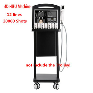 Professional 3D 4D HIFU Machine 20000 Shots High Intensity Focused Ultrasound Hifu Face Lift Anti-wrinkle For Face Breast And Body slimming
