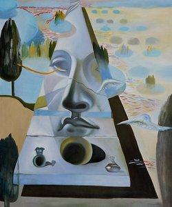 100% расписанную Salvador Dali картины абстрактного лица известных художников холст картины картины маслом воспроизводства стены искусства на холсте ручной работы