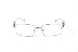 تنطبق الجملة كاملة إطار نظارات مربع من مصمم العلامة التجارية شقة الاكسسوارات noshardware للرجال والنساء مع الدرع الواقي