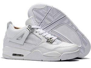 2020 4s Jumpman Basketball Shoes Pure Money IV Mens Trending Designer Sneakers Casual Trainers Sport Shoes Size 40-45