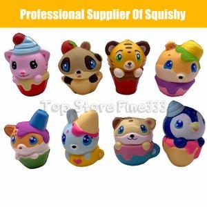 Kawaii Squishy cake cat 도너츠 식품 소프트 스 퀴시 스 핸드폰 줄 가방 참 느린 상승 지진 장난감 점보 만두 전화 챠 무즈 키즈 완구