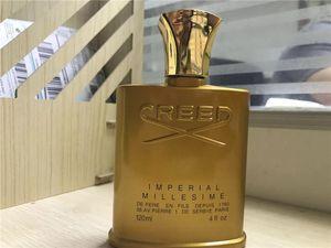 На складе Горячая продажа Золотое издание Крид Millesime Imperial Fragrance Мужская парфюмерия для мужчин 120 мл Идеальный Scent Бесплатная доставка