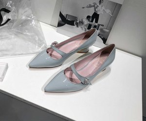2020 Hot sale Summer Dress mid Heel Pointed head fashion Wedding party Sandals Casual Shoes Women