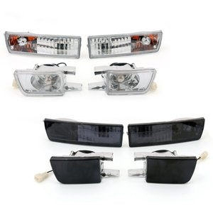 Areyourshop Car Front Bumper Lens Light&Signal Lamp Fog Light Fit For VW Golf Jetta MK3 93-98 Car Auto Accessories Parts