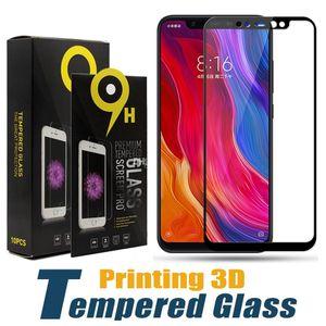 Impressão 3d dureza de vidro temperado protetor de tela dura film protetor para xiaomi mi 9 se 8 lite 8x6 plus nota mix max 3 poco f1 com pacote