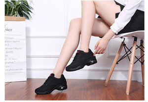 Hot Sale-m square dance shoes sports fitness jump fly woven fabric women's shoes dance shoes ladies