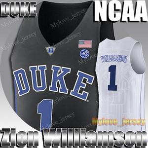 NCAA DUKE 1 ZION JERSEY WILLIAMSON 5 RJ BARRETT 21 RUI HACHIMURA 23 JARRETT CULVER 12 De'Andre Hunter 12 Ja Morant College Баскетбол Джерси