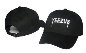 2019 новый черный Yeezus вышитые Гластонбери неструктурированные папа Cap 350 750 неизданный Kanye Hat casquette rose 6 панель Бог молиться родео шляпа