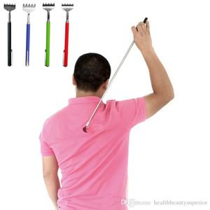 Télescopique extensible Retour Scratcher Massager Avec Pen Pocket Portable clip en acier inoxydable pleine Scratch corps