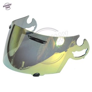new Gold Motorcycle Full Face Helmet Visor Lens Case for ARAI RR5 RX7-GP Quantum ST RX-Q Chaser-V Corsair-V Axces 2