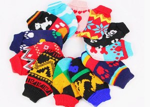 Hot sale Pet apparel sweater sleeveless closefitting different style Mixed free shipping