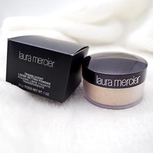 جديد أسود مربع عارية المعدنية لورا مرسييه المخفي bronzers مسحوق فضفاضة 3 اللون 29G بودرة الوجه