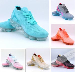2020 Knit 2.0 Pink Blue Fly 1.0 Women Running Shoes Platinum Diffused Taupe jacket pack WMNS Designer Ladies Shoes Sneakers 36-40
