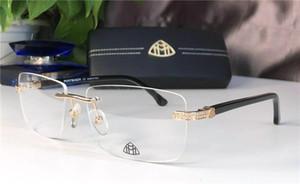 Top Luxe Qualtiy Mode hommes femmes Lunettes de soleil en verre épais Vintage Métal Miroir Lunettes de soleil High Star Qualité style Z1097
