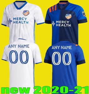 الجديدة 2020 2021 كوبو عدة FC سينسناتي SOCCER الفانيلة 20 21 AWAY التراث وصلة WASTON GARZA ADI BERTONE A.CRUZ قميص جرسي كرة القدم