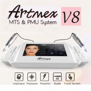 Newest Arrival Artmex V8 Permanent Makeup Tattoo Machine Eye Brow Lip Line Rotary Pen MTS and PMU System