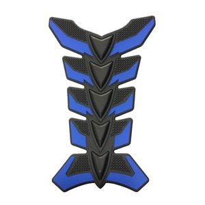 3D резинового синего Мотоцикл нефть Бензобак Pad рыба кость Protector наклейка наклейка
