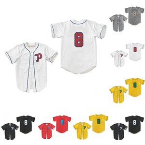 1952 Portland Beavers Baseball Jersey Double Stiched Blanc Jaune Noir Rouge Gris Hommes Femmes Enfants