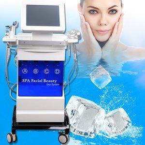 Multifuncional dermoabrasão máquina pulverizador de vácuo para remoção cabeça preta Microdermoabrasão Facial pele Máquina Diamante Peeling CE