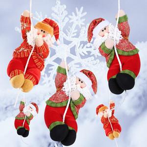Kolye Noel Dekorasyon Süsler Malzemeleri Asma Noel Ev Ağacı Süsleri Alışveriş Merkezleri Noel Baba Smowman Yılbaşı