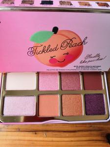 Novo em estoque Pêssego Tickled Mini Eyeshadow Maquiagem Paleta de maquiagem / eyeshadow palHoliday Chirstmas paleta da paleta de 8 cores DHL frete grátis