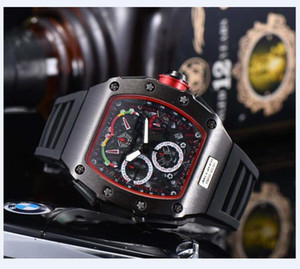 3A Mens Watches Top Brand Luxury Quartz Watch Men Casual Rubber band Military Waterproof Sport Wristwatch stainless steel Gift Male Clock