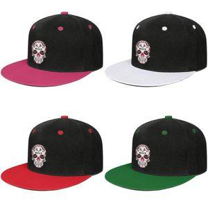 Fashion-Skull Bulls Sugar Candy 2019 For Men Golf Cap Vintage Cute Twill Unisex Fit Strapback Mesh Hats Playoffs Win'16 Champion logo