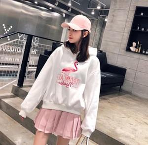 Harf Kadın Kazak Harajuku Bayanlar Kapşonlu Oversize Casual Yumuşak Sıcak Basit Streetwear Kadın Kapüşonlular yazdır Shellsuning