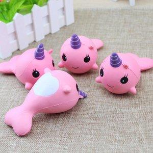 Squishy unicorns Jumbo Slow Rising Soft horse Oversize Phone Squeeze toys Pendant Anti Stress Kid Cartoon Toy Decompression Toy