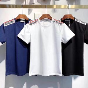 2020 глубинка Мужская бренд полосатые футболки Snake Harajuku Tee Камуфляж с коротким рукавом Мода High Street Hip Hop Женщины Хлопок Мужские футболки