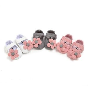 Autumn Toddler Shoes Baby Girl Anti-Slip Casual Walking Shoes Flower Sneakers Soft Soled First Walkers #28fJuw#