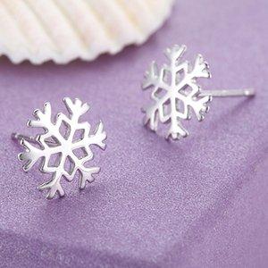 Sterling Silber Ohrringe koreanischen klassischen Winterschnee Liebe Freundin Geburtstag Weihnachten Neujahr Geschenk Valentinstag Geschenk jm002
